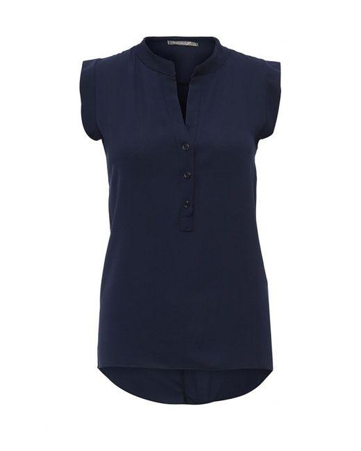 PERFECT J | Женская Синяя Блуза