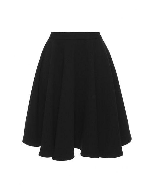 Gloss | Женская Чёрная Юбка
