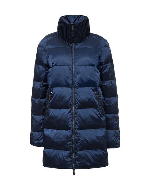 Savage | Женская Синяя Куртка Утепленная