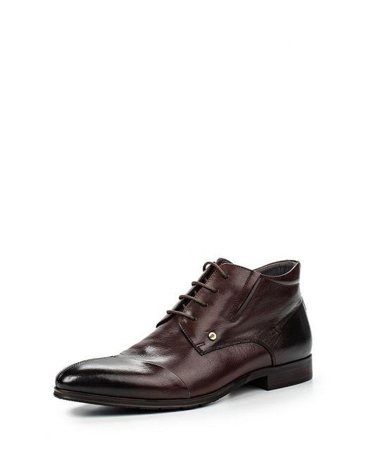 Dino Ricci | Мужские Коричневые Ботинки