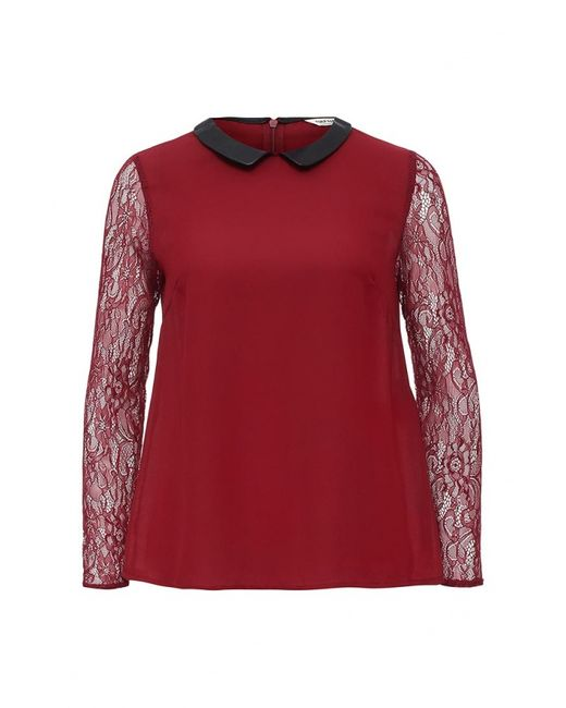 Naf Naf | Женская Красная Блуза
