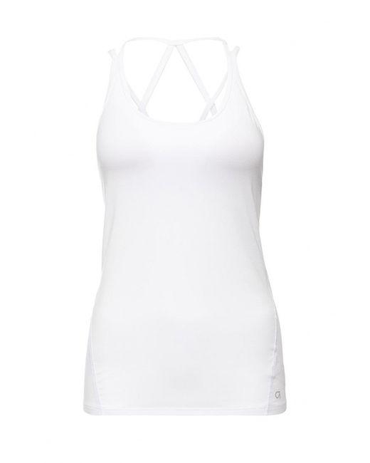 Gap | Женская Белая Майка Спортивная