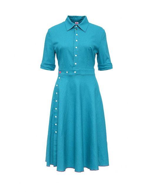 Bodra | Женское Голубое Платье