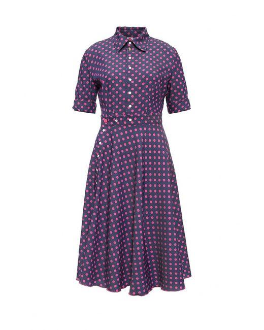 Bodra | Женское Фиолетовое Платье