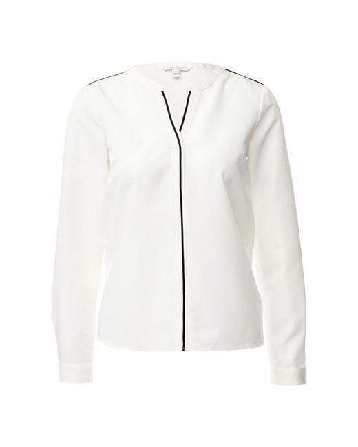 TOM TAILOR | Женская Белая Блуза