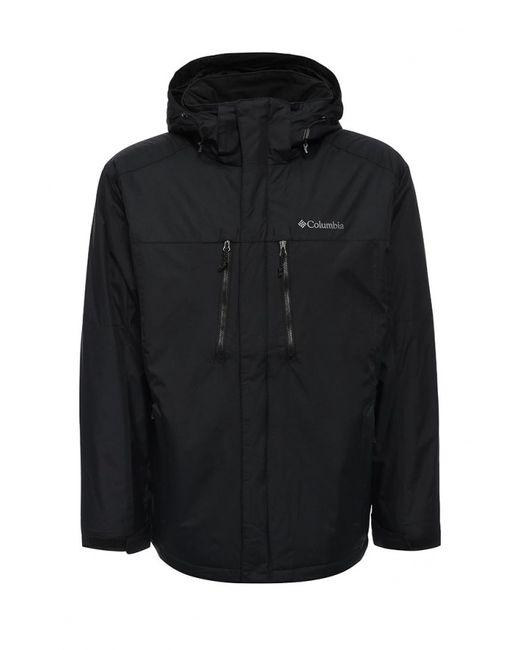 Columbia   Мужская Чёрная Куртка Утепленная