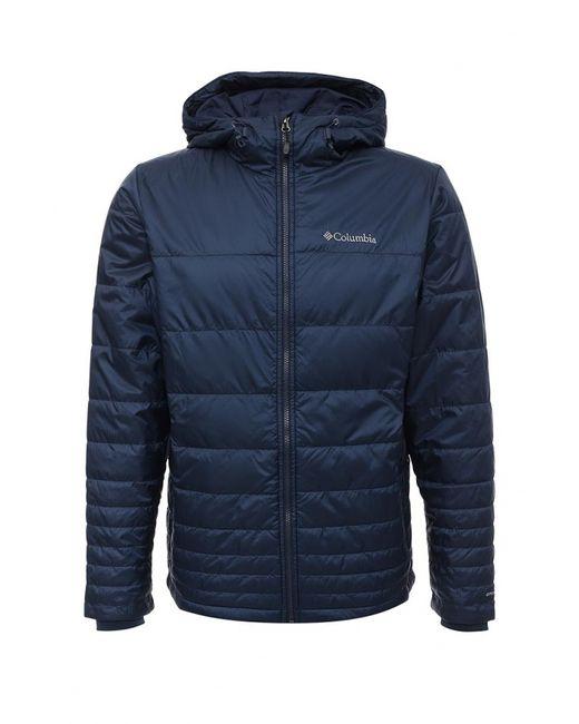 Columbia | Мужская Синяя Куртка Утепленная