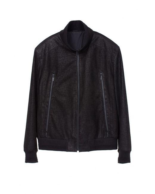 Interfino | Мужская Чёрная Куртка