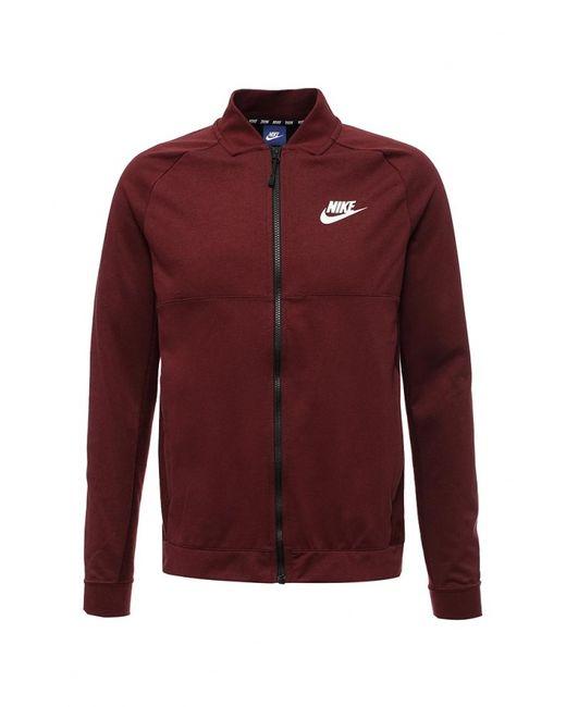 Nike | Мужская Чёрная Олимпийка