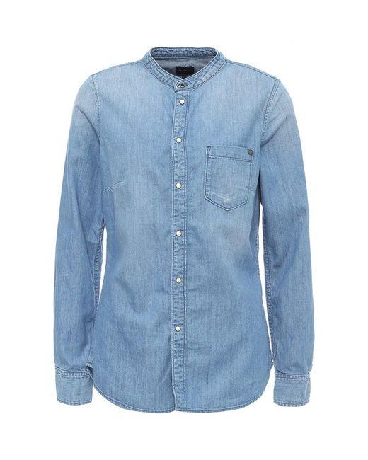 Pepe Jeans London | Женская Голуба Рубашка Джинсовая