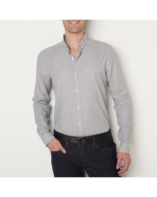 R essentiel | Мужская Рубашка В Полоску