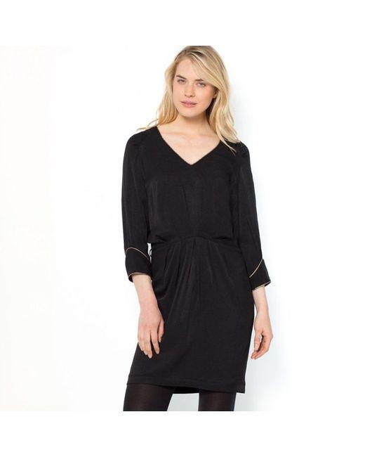 LA PETITE FRANCAISE | Женское Чёрное Платье