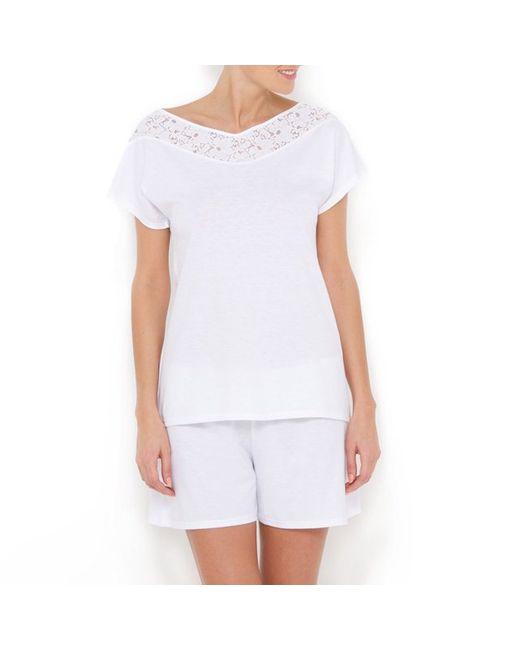 LE CHAT | Женская Белая Пижама