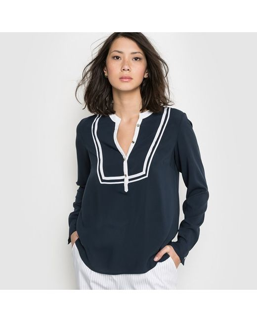 Мини-цена | Женская Синяя Блузка