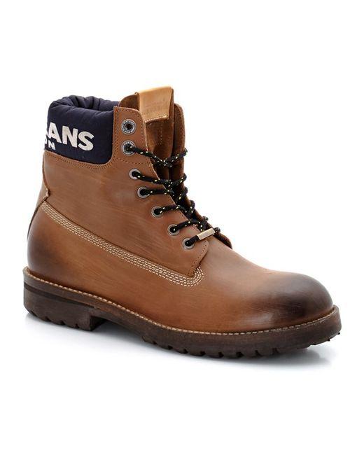 Pepe Jeans London | Мужские Медовые Ботинки