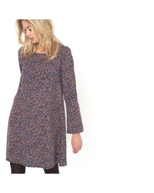 MADEMOISELLE R | Женское Набивной Рисунок Платье С Мозаичным Рисунком