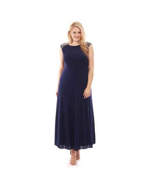 Lovedrobe | Женское Синее Платье Длинное