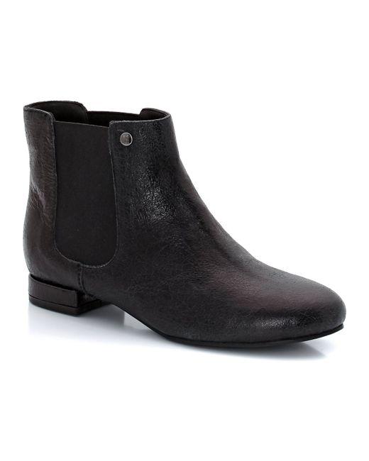 Elle | Женские Чёрные Ботинки Mabilon