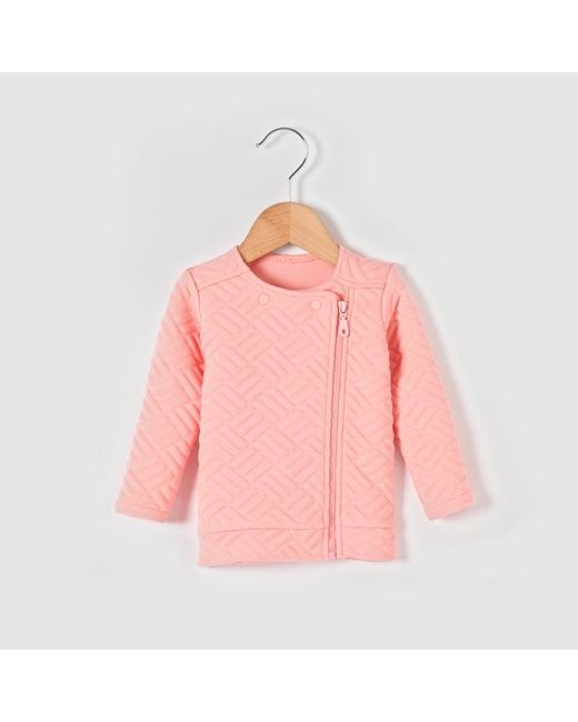 R baby | Розовые Свитшот На Молнии Асимметричный 1 Мес.-3 Лет