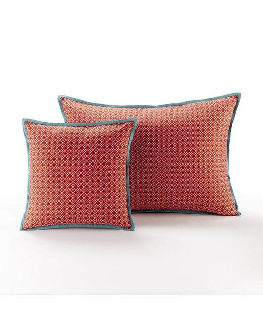 La Redoute Interieurs | Красный Чехол Для Подушки Из Хлопковой Перкали Nilar