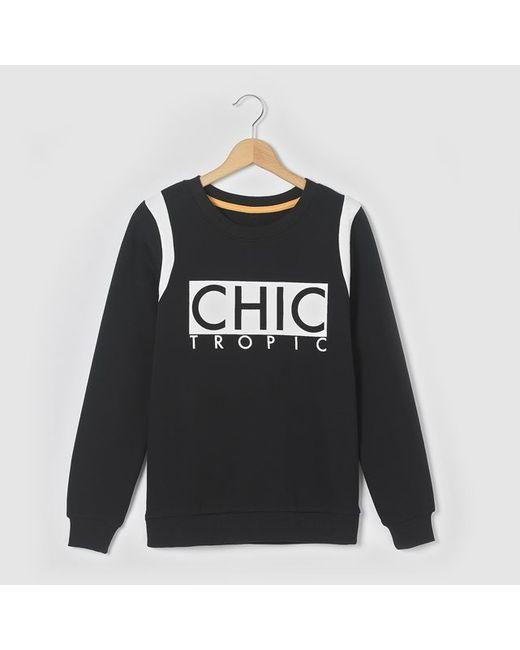 Мини-цена | Чёрные Свитшот Chic Tropic 10-16 Лет