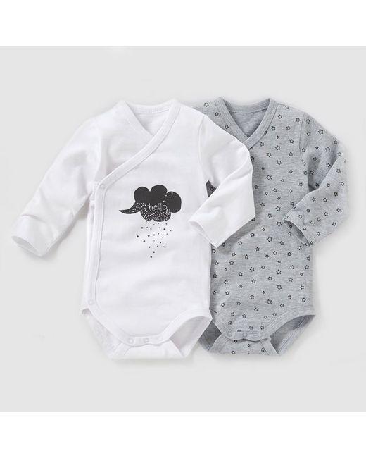 R baby | Белый Комплект Из 2 Боди На Возраст От