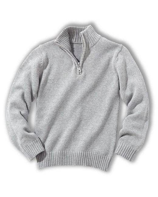 Мини-цена   Зелёный Пуловер С Высоким Воротником 3-12 Лет