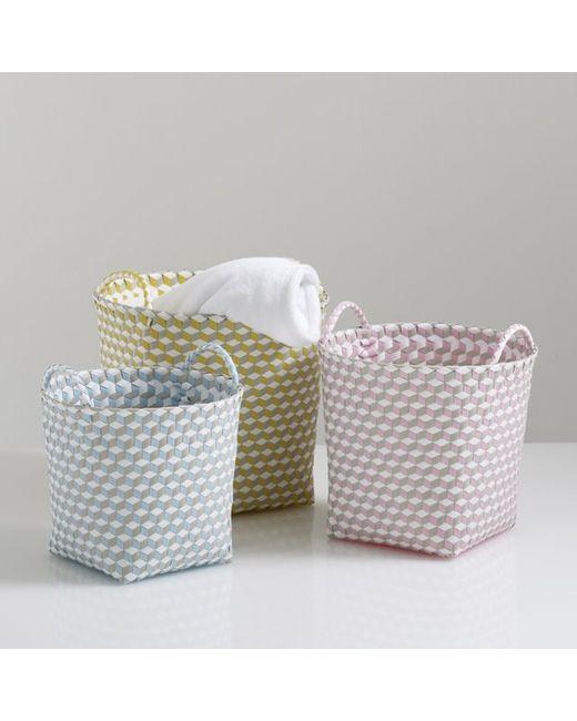 La Redoute Interieurs | Многоцветный Комплект Из 3 Плетеных Корзин С Ручками