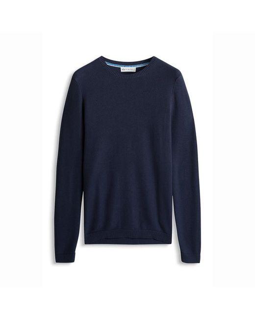Esprit   Мужской Синий Пуловер Из Тонкого Трикотажа