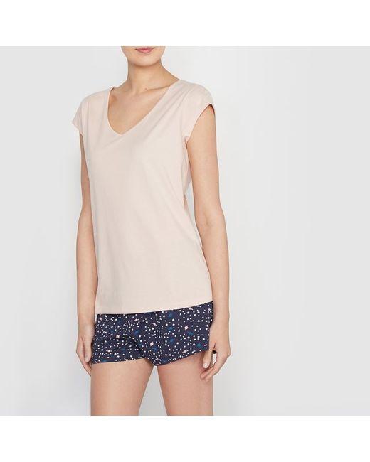 R édition | Женская Розовая Пижама С Шортами