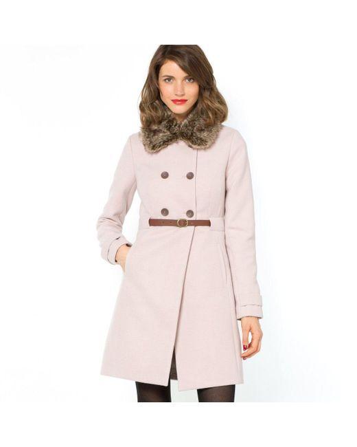 Мини-цена | Женское Розовое Пальто