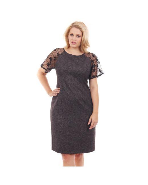 Lovedrobe | Женское Серое Платье Однотонное