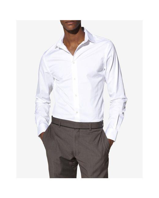 Celio | Мужская Голуба Рубашка Мужская Samagic Приталенный Покрой