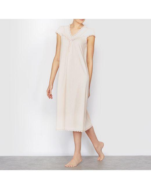 ANNE WEYBURN | Женская Розовая Сорочка Ночная