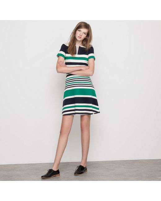 MADEMOISELLE R | Женское В Полоску Платье Из Трикотажа