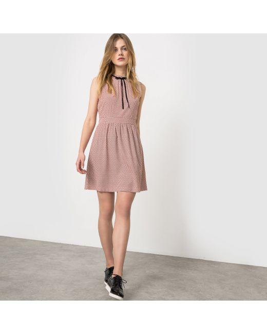 Vero Moda | Женское Синее Платье Без Рукавов