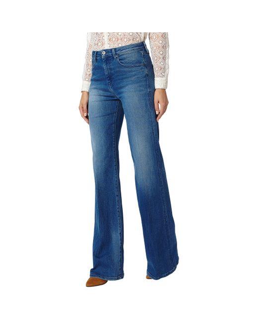 Pepe Jeans London   Женские Синие Джинсы Расклешенные Strand