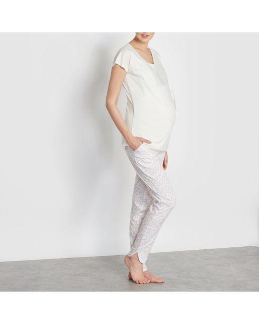 Cocoon | Женская Рисунок Экрящая Пижама Для Беременных И Кормящих Грудью