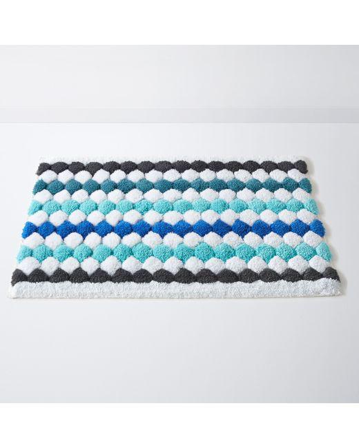 La Redoute Interieurs   Синий Коврик Для Ванной Разноцветный Dot 100 Хлопка