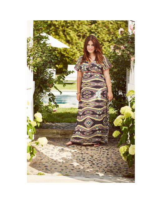 Mat Fashion | Женское Набивной Рисунок Платье