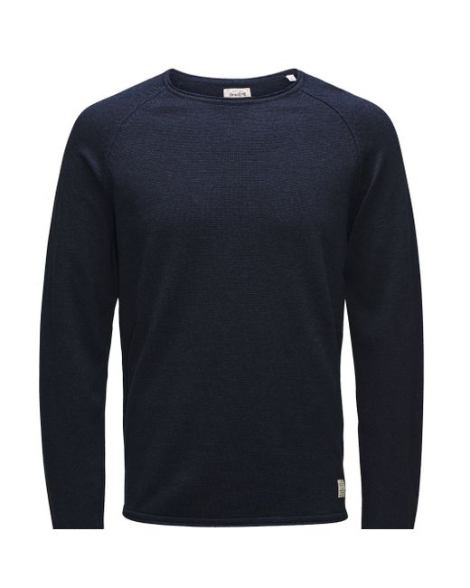 Jack & Jones Vintage | Мужской Синий Пуловер Union