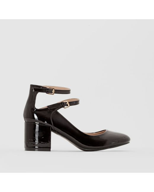 CASTALUNA | Женские Чёрные Туфли Лакированные