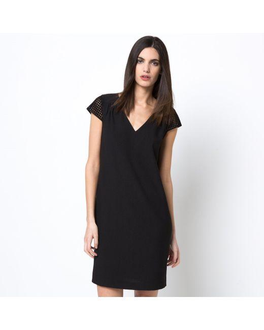 LAURA CLEMENT   Женское Чёрное Платье Прямое