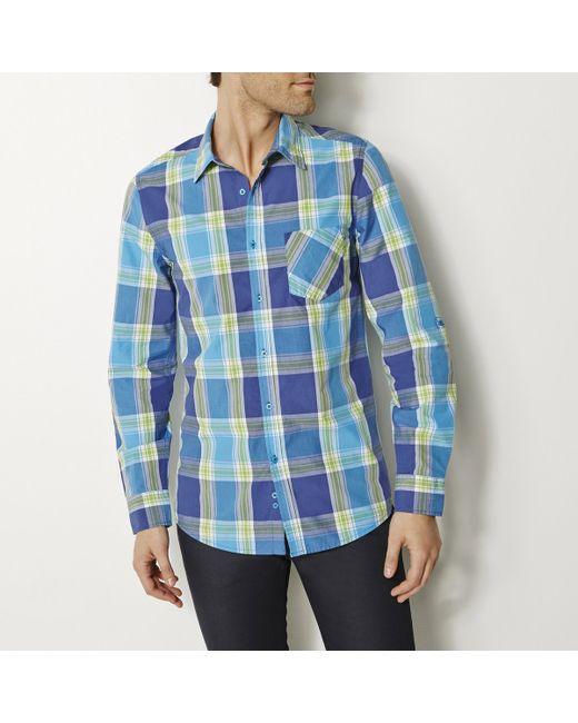 Мини-цена | Мужская Синяя Рубашка
