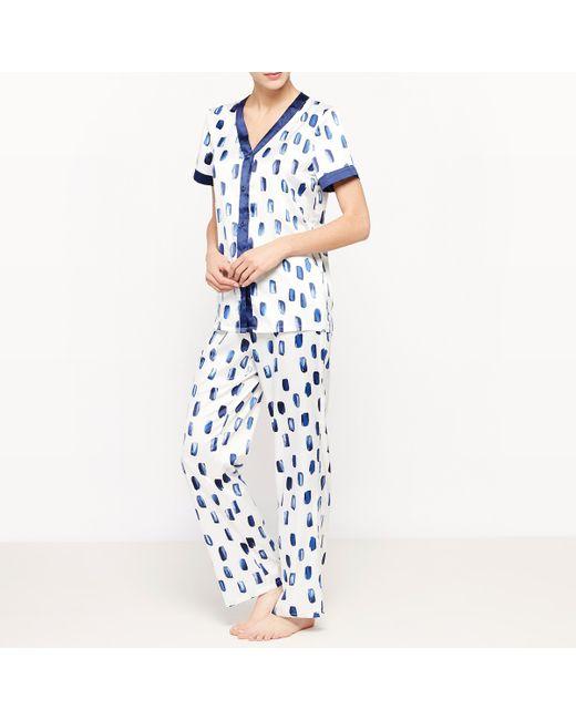 LOUISE MARNAY | Женская Набивной Рисунка Пижама Из 2 Предметов