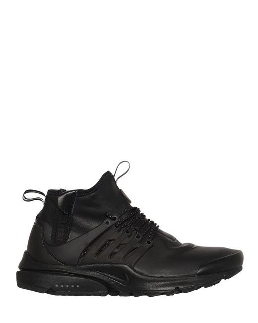 Nike | Мужские Чёрные Непромокаемые Кроссовки Air Presto Utility