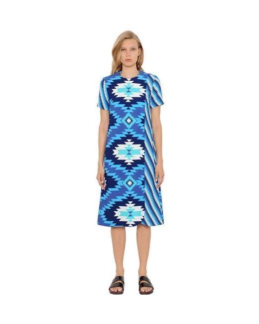 House Of Holland | Женское Платье Из Крепа С Геометрическим Принтом