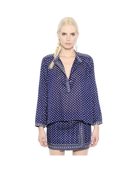 Isabel Marant Étoile | Женская Рубашка Из Лёгкого Хлопкового Поплин