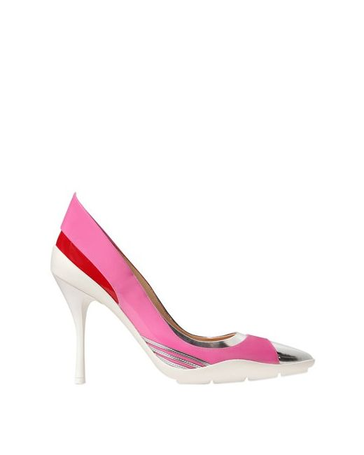 Moschino | Женские Туфли Из Лакированной Кожи И Кожи Цвета