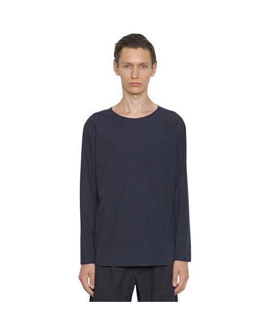 Christophe Lemaire   Мужская Рубашка Из Мягкого Хлопкового Поплин